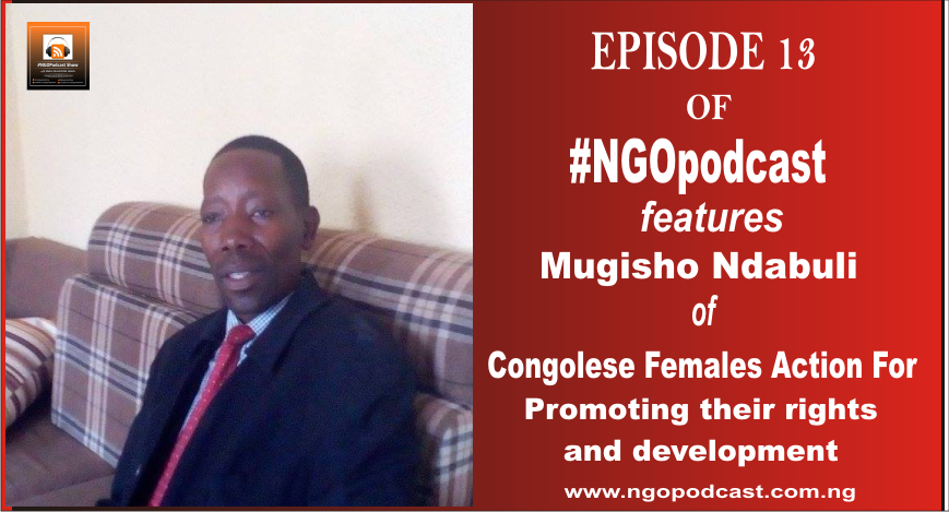 NGOP0013-INTERVIEW WITH MUGISHO NDABULI (Congolese Females Action for Promoting their Rights-COFAPRI)