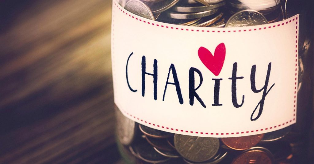 5 REASONS TO GIVE TO CHARITY