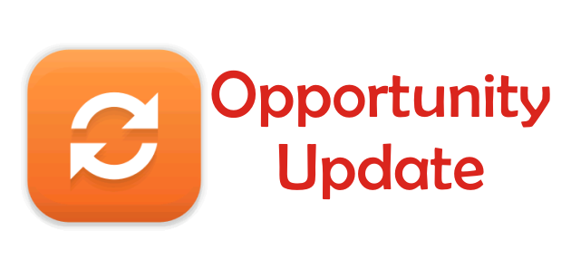 Introducing Opportunity Update!