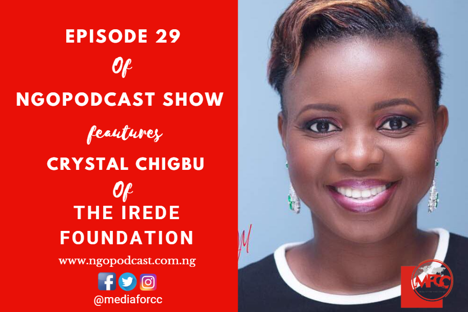 NGOP0029-INTERVIEW WITH CRYSTAL CHIGBU (THE IREDE FOUNDATION)